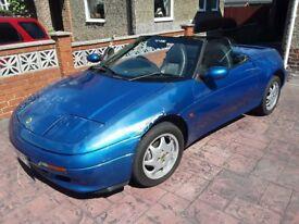 1991 Lotus Elan M100 SE Turbo, Pacific Blue