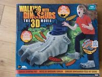 Pair of dinosaur stomping feet with sound! Like new!