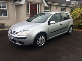 VW Golf SDI - 2l - 2006 - 5Dr - MOT JULY 18 - Great Condition - Downpatrick
