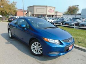 2012 Honda Civic NAVI-COUPE-LOW KM'S
