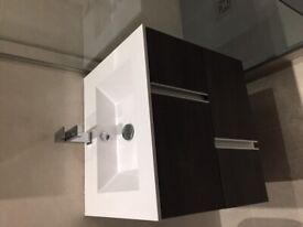 Porcelanosa basin and furniture- hardly used