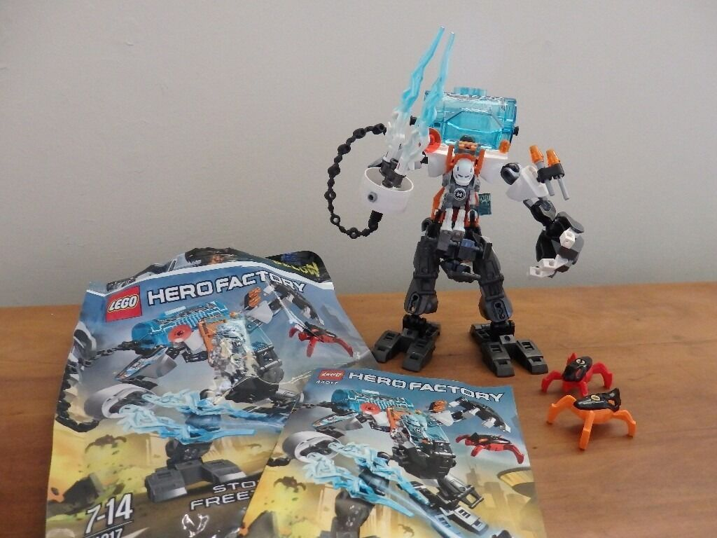 Lego 44017 Rare Lego Hero Factory Stormer Freeze Machine Complete