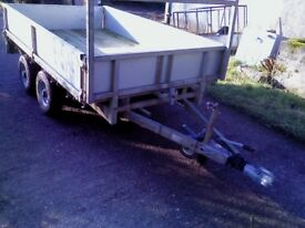 IFOR WILLIAMS 8 X 5 DROPSIDE WITH BRAKES/LIGHTS WORKING