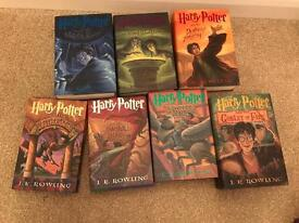 American Harry Potter books