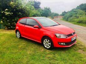 VOLKSWAGEN POLO 1.2 MATCH, 1 Former keeper, MOT June 2019, Just Serviced (red) 2012