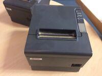 2 Epson TM-T88IV Receipt Printers - MUST GO