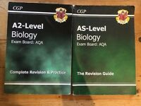 CGP AQA AS and A level Biology Revision guides 2009