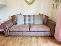 DFS GOULDING 4 SEATER SOFA & 2 SEATER CHAIR