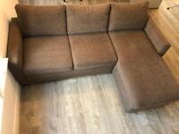 Studio sleep corner sofa bed