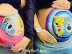 Belly Heart Bellypaint
