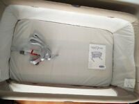 Chicco Next 2 Me Side-Sleeping Crib dove grey ( Still in brand new condition) £110