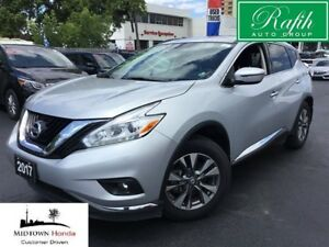 2017 Nissan Murano SV-AWD-Navigation-Sunroof-Rear camera