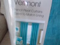 New curtains from Dunelm still in original packaging