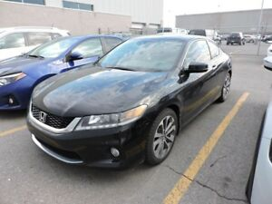2015 HONDA ACCORD COUPE EX-L V6 GPS,CUIR,TOIT,MAGS,FOG,FULL