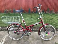 fb720d35293 LADIES MENS ADULTS UNISEX VINTAGE CLASSICAL TRIUMPH 20 INCH WHEEL 3 SPEED  LOWRIDER BIKE BICYCLE