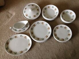 Hostess tableware by British Anchor Staffordshire
