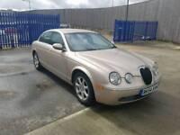 Jaguar s type diesel automatic new mot