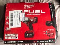 Milwaukee m18 3/8 impact gun brand new