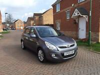 2009 HYUNDAI I20 STAYLE 12 MONTH MOT FULLY SERVICED LOW MILEAGE HALF LATHER FULL HPI CLEAR