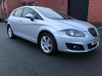 2012 SEAT LEON S COPA CR ECOMOTIVE 1.6 TDI START/STOP FULL SERVICE HISTORY FREE ROAD TAX