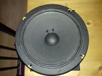 10 inch 30 watt celestion speaker for guitar amp came from vox valvetronix amp will fit most amps