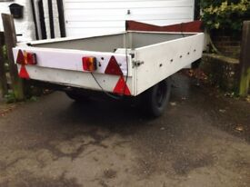 Trailer lightweight 4' x 7'