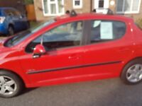 PEUGEOT 207 VERVE FOR SALE