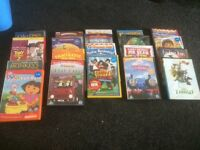 Selection of children's dvds 20 in total