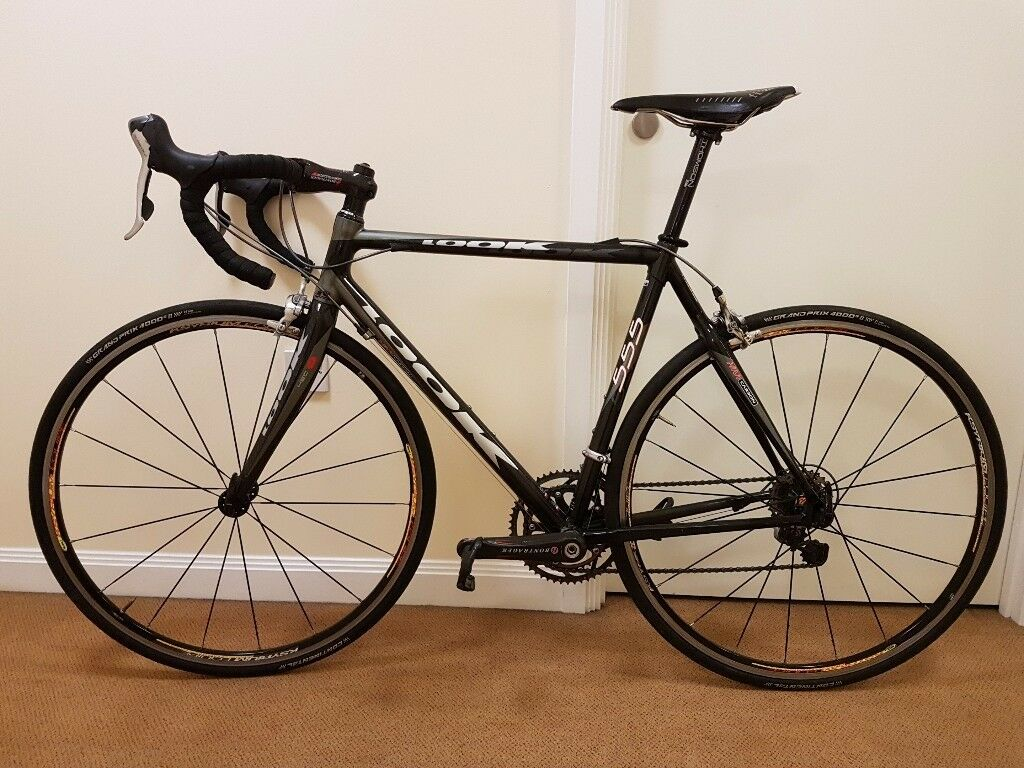 Look 555 Size 53 Medium Small Carbon Road Bike Bicycle In Queens
