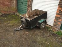 Small packing trailer 3ft x 4ft internall size