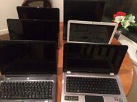 6 Laptops Sale Spare / repairs