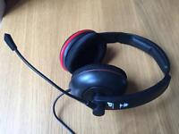 Turtle Beach Earforce P11 amplified stereo gaming headset (PS3, PS4, XBox, PC)