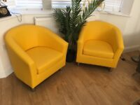 Brand new tub chairs for sale-Unopened