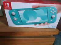 Nintendo switch lite sealed in box