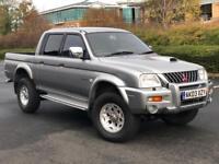 MITSUBISHI L200 WARRIOR 2.4 TD LWB 4X4 4WD