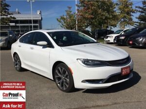 2016 Chrysler 200 C**PANORAMIC SUNROOF**LEATHER HEATED SEATS**