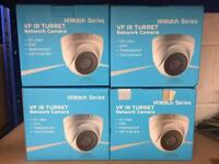 Hikvision CCTV 4x Cameras And NVR New IP PoE Network NVR-104-A/4P IPC-T620-Z