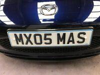 MX05MAS Personalised Plate Mazda MX5