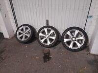 Subaru Legacy wheels and tyres