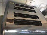 Toaster four slice stainless steel