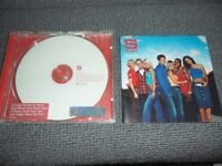 S Club 7 - HAND SIGNED by ALL 7 band members - SUNSHINE PROMO CD - Rachel signed it on two occasions
