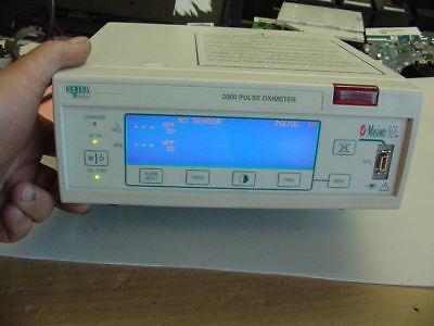 Masimo 2000 Pulse Oximeter  M Power On Test - O9