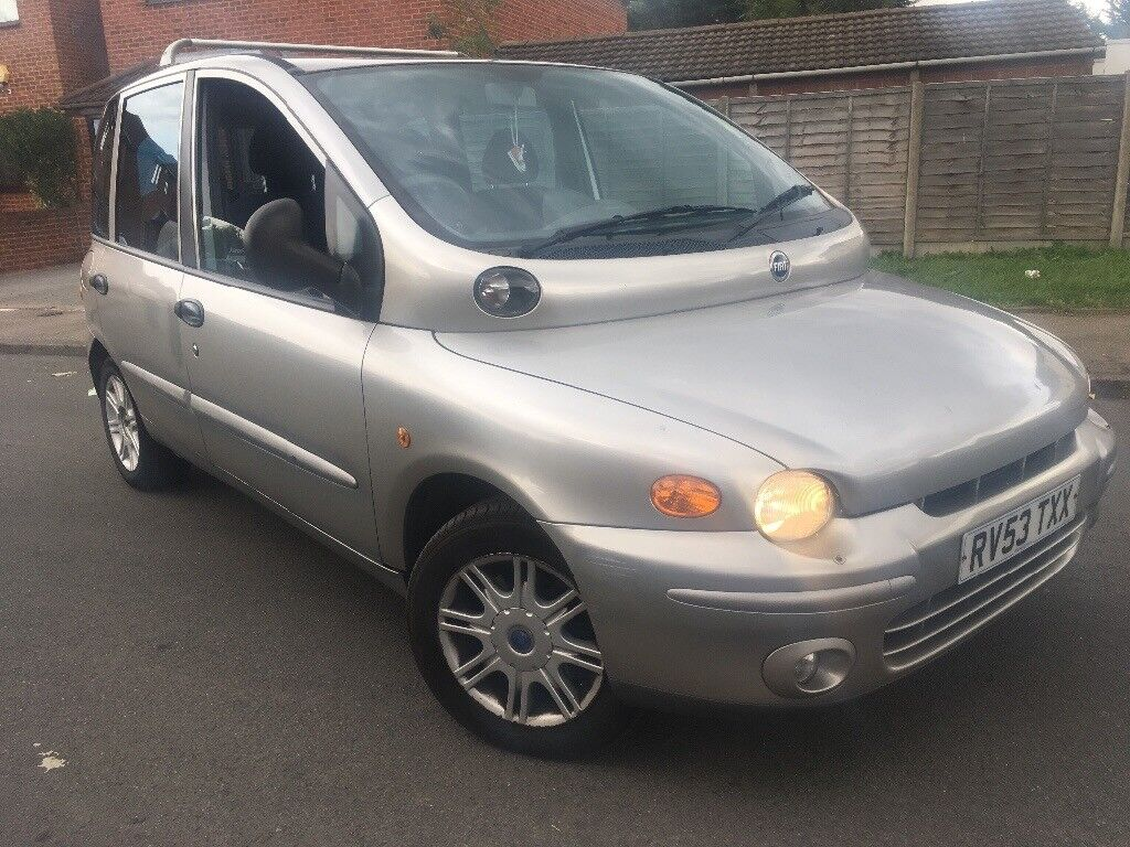 2003 fiat multipla 2.0 jtd diesel car manual mot may 2018 drives