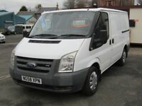 09/58 Ford Transit T280 2.2TDCi Diesel Van, White. **Lined, MOT Jan 2019, 2 Owners**