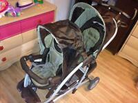 Graco double carriage