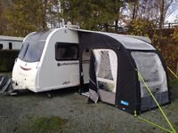 Kampa Rally Air Pro 200 porch awning in good condition
