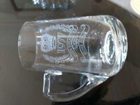 QE II, Silver Jubilee 1977 Beer glass