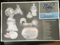 Nuby natural touch electric breast pump kit