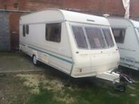 4 BERTH BAILEY RANGER WITH MORTOR MOVER FULL AWNING AND WE CAN DELIVER