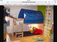 Ikea Children's Bed With Canopy